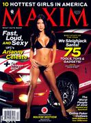 Arianny Celeste  Maxim magazine December 2012 issue