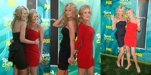 Aly and Amanda Michalka-2009 Teen CHoice Awards Collage