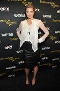White blouse & Black skirt
