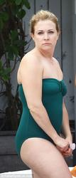 Melissa Joan Hart - Wearing A Swimsuit in Miami (5/29/15)