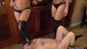 Mistress Tangent: Black Boot Trample
