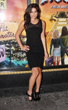 Lea Michele attends the hit rock musical ''Rock of Ages'' on Broadway, October 6, 2009 - 10HQ