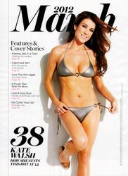 **Adds** Kate Walsh - *AMAZING* Bikini Body in Shape mag March 2012