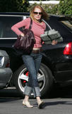 Marg Helgenberger Shopping in Santa Monica, CA - December 23, 2007